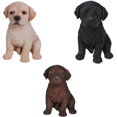 Labrador Puppy Dog - Lifelike Ornament Gift - Indoor or Outdoor - Pet Pals