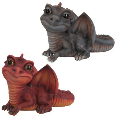 Baby Mythical Dragon - Ornament Gift - Indoor or Outdoor - Pet Pals - 2 Colours