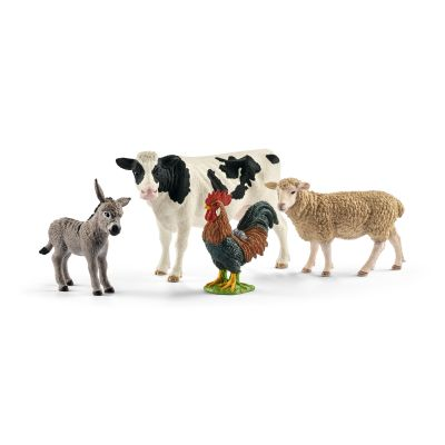 Farm World Starter Set - Animals Cow Sheep - Schleich - 42385