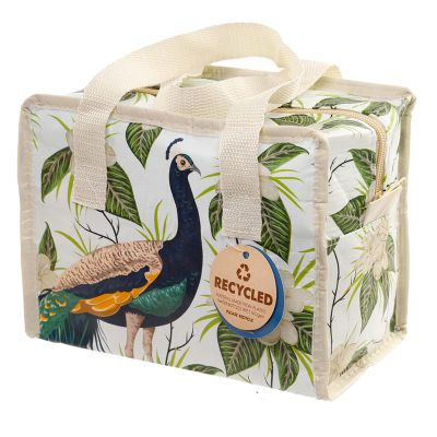 Peacock Lunch Sandwich Bag - Ethical Recycled
