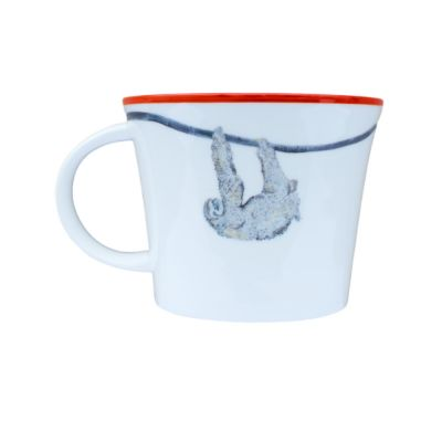 Sloth Stella Bone China Mug - Emily Smith