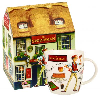 At Your Leisure Mug - The Sportsman Fine China Mug - Churchill