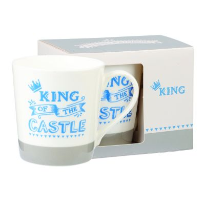 King of the Castle Mug - Chasing Rainbows Fine China Mug - Churchill