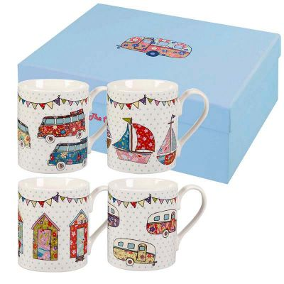 Caravan Trail Festival Fine China Mug Gift Set
