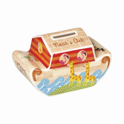 Noah's Ark Money Box - Fine China - Churchill