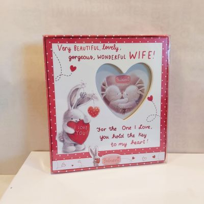 Heart Picture Frame - Wife - Bebunni - Valentine's Day