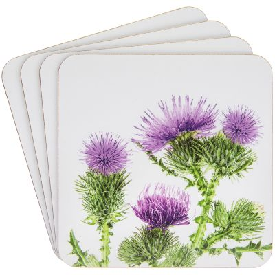 Thistle Coasters - Set of 4