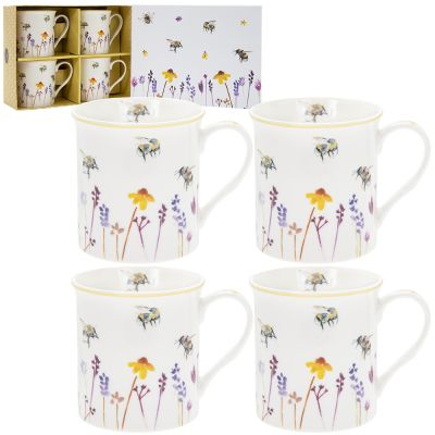 Busy Bees Collection Fine China Mug Gift Set