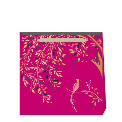 Birds of Paradise Pink Gift Bag - Medium - Sara Miller