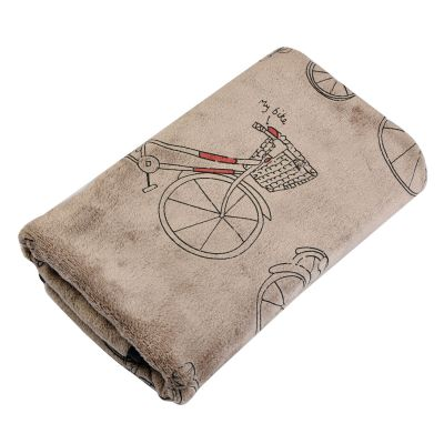 Bike Bicycle Guest Hand Towel - 35x75cm - Clayre & Eef