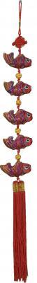 Oriental Lucky Charm Chinese Mobile Hanging Decoration - Fish
