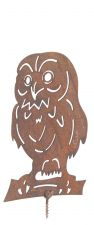 Owl - Rusty Revival Garden Fence Decoration