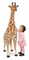 Melissa & Doug Giant Lifelike Giraffe Plush Soft Toy