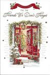 Friends We Don't Forget - Christmas Card